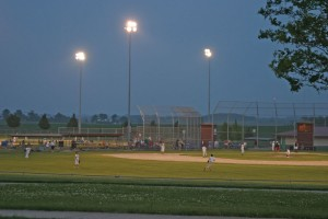 little league baseball at Ahrens Park