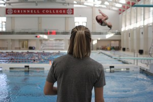 deidre freeman coaching grinnell college athletes