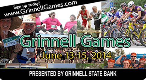 grinnell games, june 13-15, 2014 presented by grinnell state bank