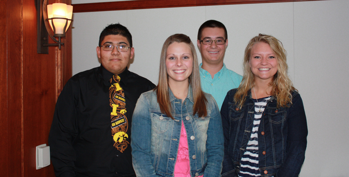 2014 Aux scholarship winners