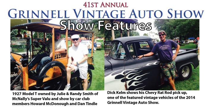 Grinnell Vintage Auto Show Recap August 23, 2014