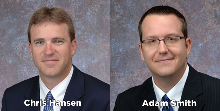 Hansen and Smith appointed Grinnell Mutual vice presidents