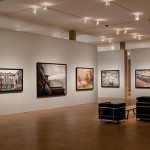 """Installation view of """"Edward Burtynsky: Water,"""" on view in the Faulconer Gallery through Sept. 28."""