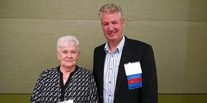 Fran Davis Honored as IHA Shining Star For Outstanding Volunteer Service