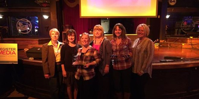 Grinnell Chamber Sweeps Iowa Tourism Conference in Council Bluffs