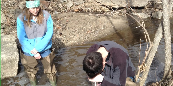 Iowater at Grinnell College is seeking volunteers to monitor and maintain water quality.
