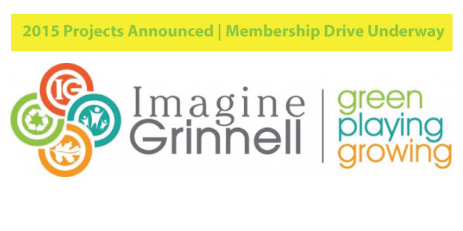 Imagine Grinnell Membership Drive Underway; 2015 Projects Announced