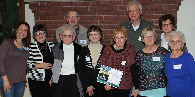 Second Mile Volunteers, the 2015 Volunteer of the Year Award