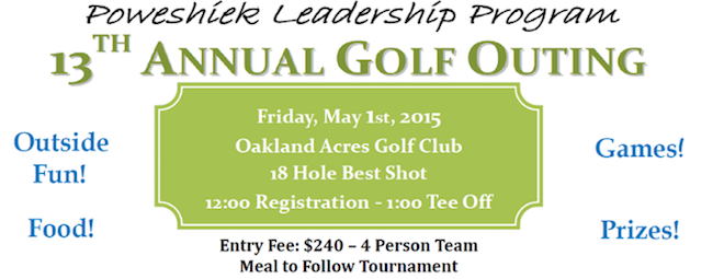 PLP 13th Annual Golf Outing Friday May 1