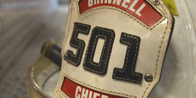 CHIEF DAN SICARD DISCUSSES HIS VOLUNTEERS AND THE FUTURE OF THE GRINNELL FIRE DEPARTMENT