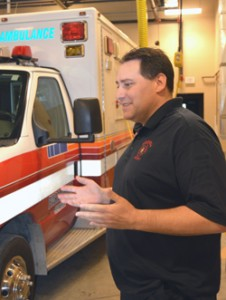 Chief Sicard discusses the various firehouse vehicles