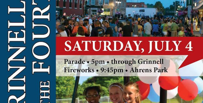 Live music, a parade and fireworks set to celebrate Fourth of July in Grinnell