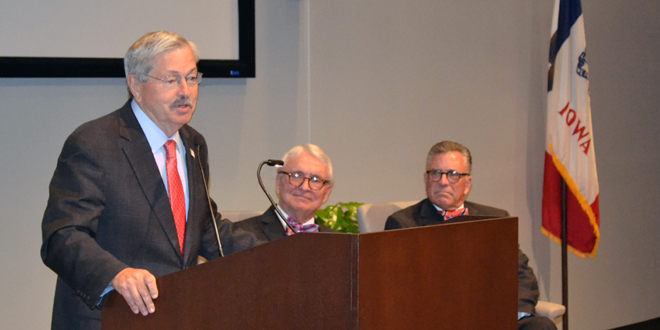 Grinnell Mutual dedicates Bartelt Conference and Education Center during grand opening
