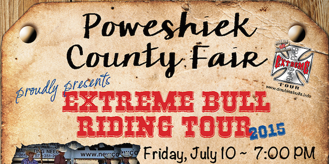 Extreme Bull Riding event to benefit fair Friday July 10