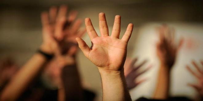 Raised-Hands