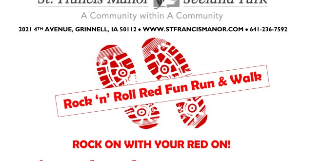"St. Francis Manor & Seeland Park Announce ""Rock 'n' Roll Red Fun Run & Walk"" on August 29th"