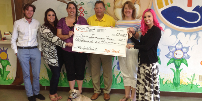 Crisis Intervention Services Receives a $1,000 Donation