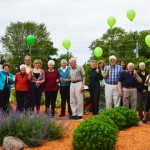 GPCF group at our inaugural pie day (June 2, 2015) celebrating Tom Marshall's birthday and work with GPCF and other nonprofits in the Poweshiek County area.