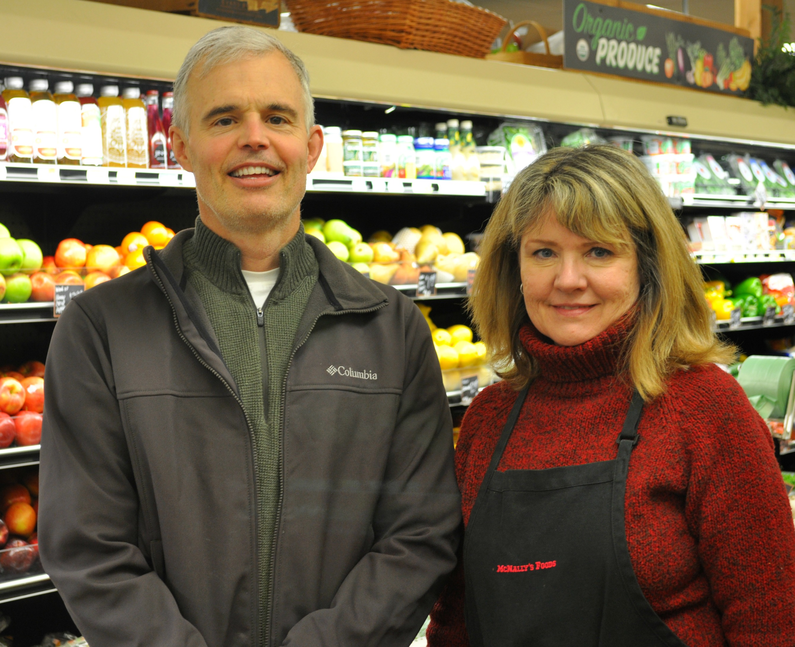 Randy and Julie Smith have owned and operated McNally's since 1988.  Photo by Sarah Breemer Pfennigs