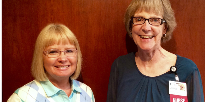 Jones and Lacey Named as 100 Great Iowa Nurses