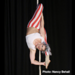 Chicago's Aloft Circus Arts will combine circus artistry and aerial performance at Grinnell College's Summerfest on Saturday, June 11.  Photo by Nancy Behall