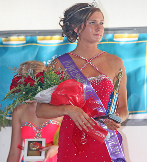 County Fair Queen -- Brooke Kuesel, the 2016 Poweshiek County Fair Queen, was announced during a ceremony at the Poweshiek County Fairgrounds on Thursday, July 21. Eight young ladies vied for the queen crown. Brooke comes from a long-line of Poweshiek County Fair and Iowa State Fair attendees. She will be a senior at HLV High School this fall.