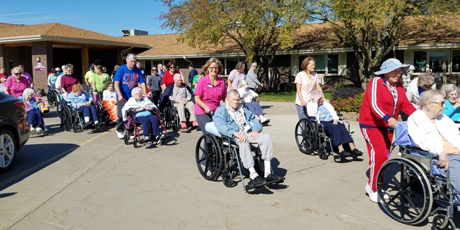 St. Francis Residents Participate In Iowa's Healthiest State Initiative
