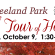 "Seeland Park ""Fall Tour of Homes"" Sunday, October 9, 1:30-4:30"