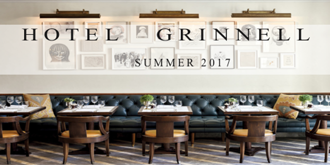New Year Promises Excitement:  Hotel Grinnell to Debut